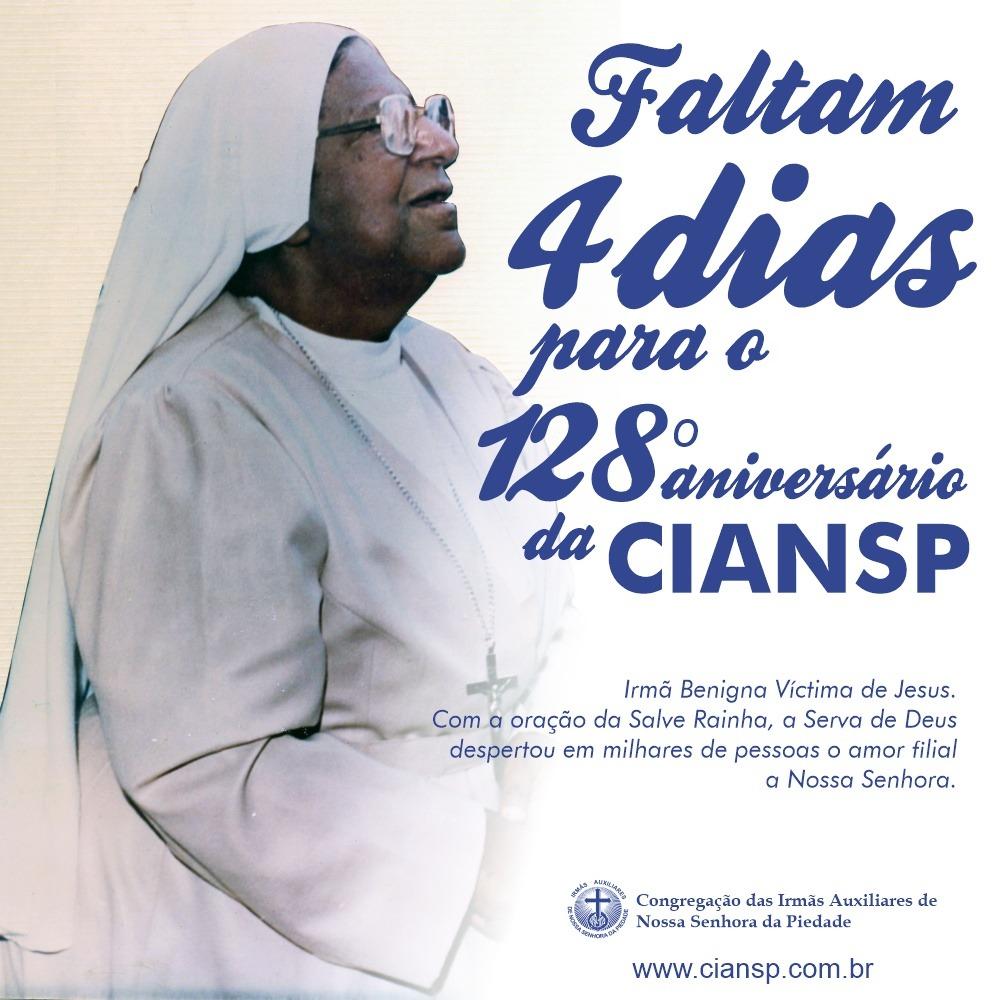 128º aniversário da CIANSP