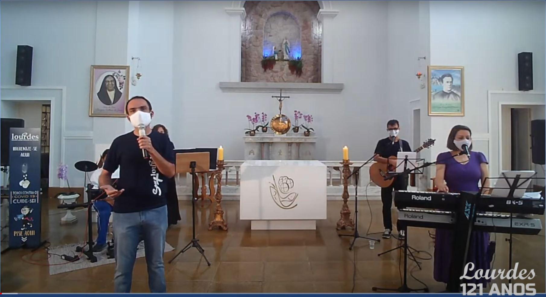 Live de Aniversário – 121 do Colégio Nossa Senhora de Lourdes